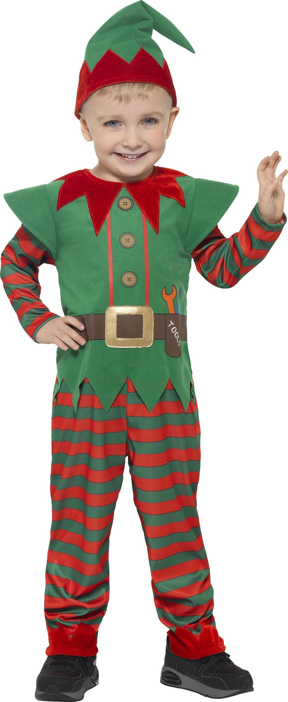 Elf Toddler Kids Costume