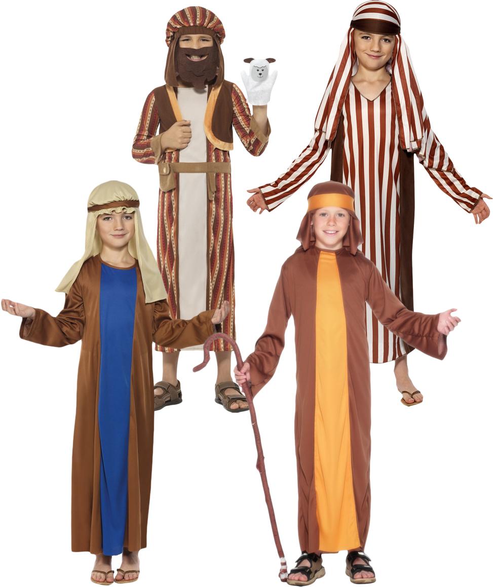 Sentinel Shepherd u0026 Joseph Boys Nativity Fancy Dress Xmas Christmas Children Costumes New  sc 1 st  eBay & Shepherd u0026 Joseph Boys Nativity Fancy Dress Xmas Christmas Children ...