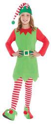 Merry Elf Girls Costume
