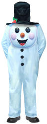 Snowman with Jumbo Face Boys Costume