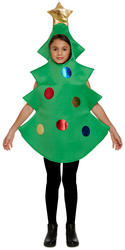 Christmas Tree Kids Fancy Dress