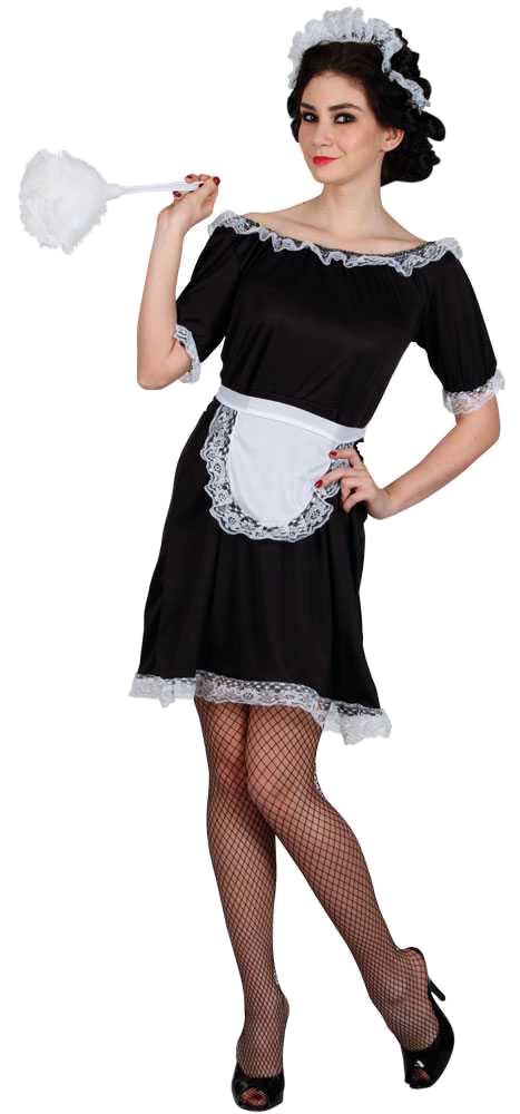73afb35c6105 Classic French Maid Costume | All Ladies Costumes | Mega Fancy Dress