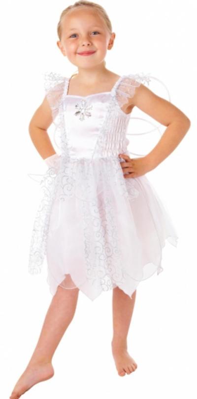 White Fairy Girls Costume