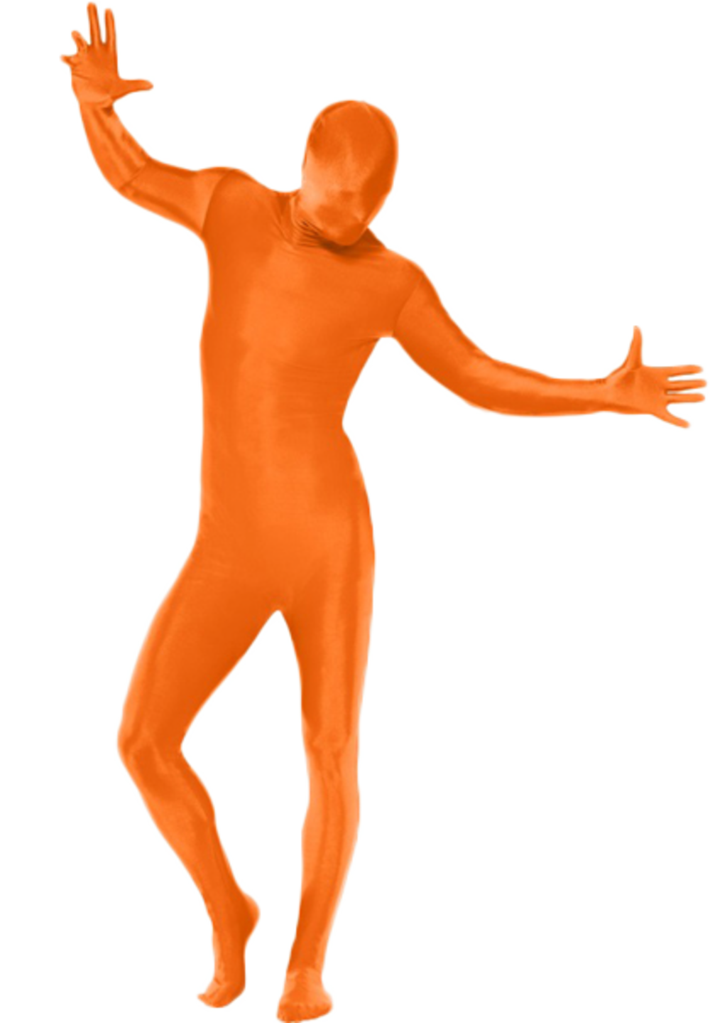 Orange Second Skin Suit