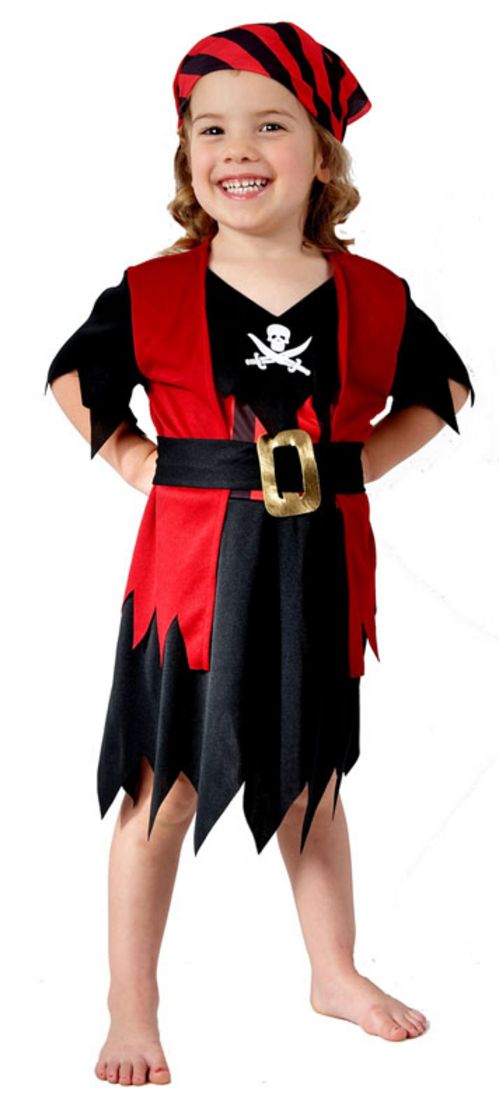 Fancy dress costume sizes can differ from standard clothing. Please check our size guide to ensure the best fit. Size Guide. Please Select the Size. Standard ; Who knew becoming a pirate for the day/night could be so easy! You won't be walking the plank when you discover our Pirate Kit, a boisterous buccaneers gold treasure of finds!.