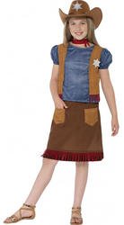 Western Belle Cowgirl Girls Costume