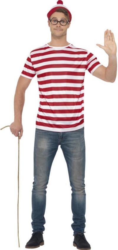 Wheres Wally Mens Costume Kit
