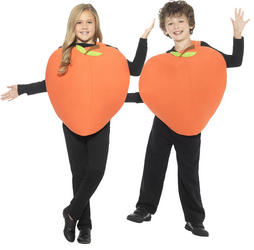Peach Kids Costume