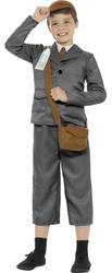 Evacuee Boys Costume