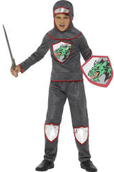 Deluxe Knight Boys Costume