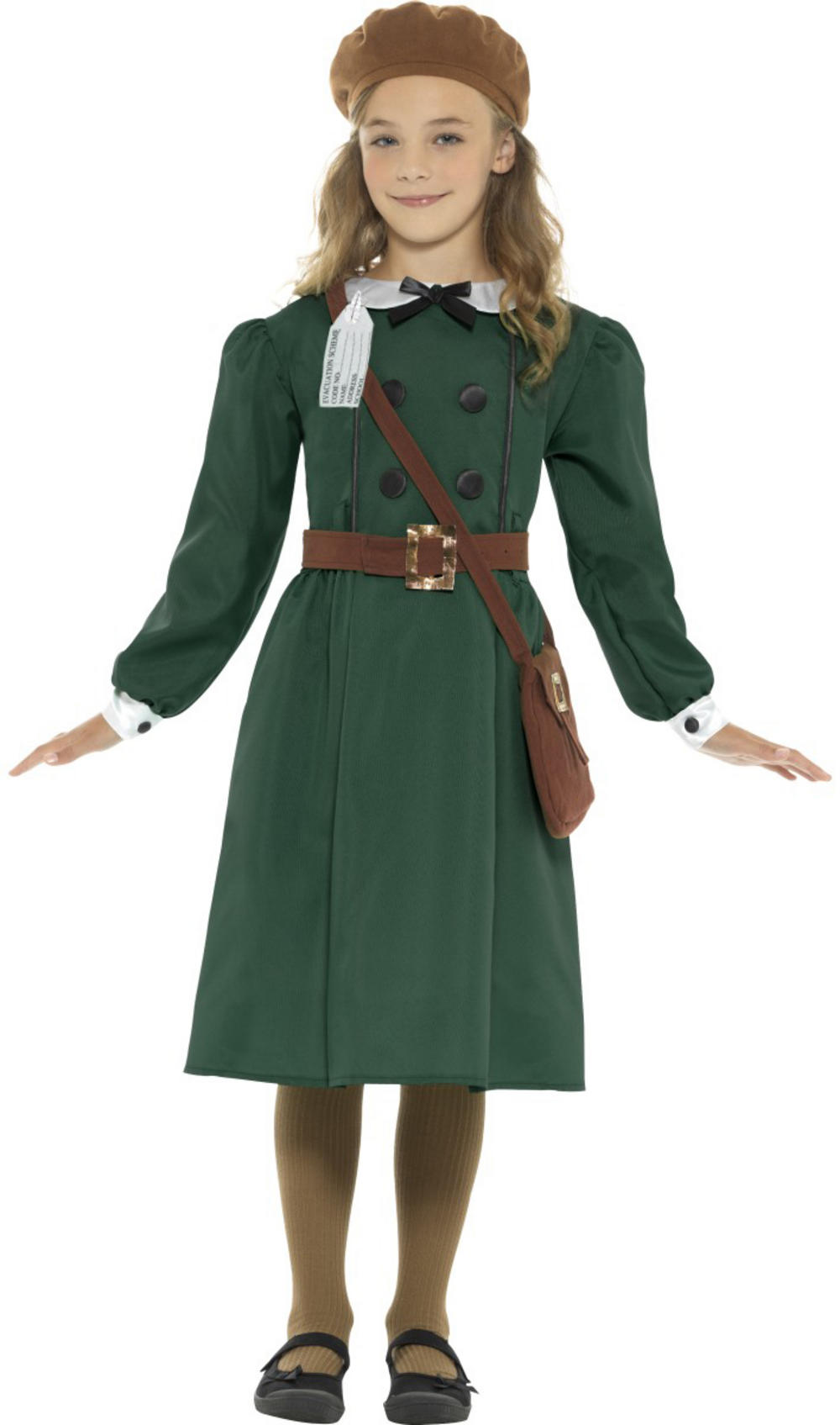 WW2 Evacuee Girls Costume