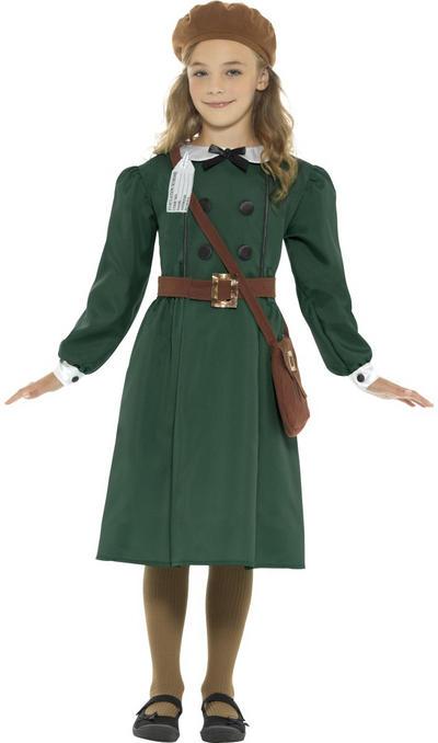 WW2 Evacuee Girls Costume