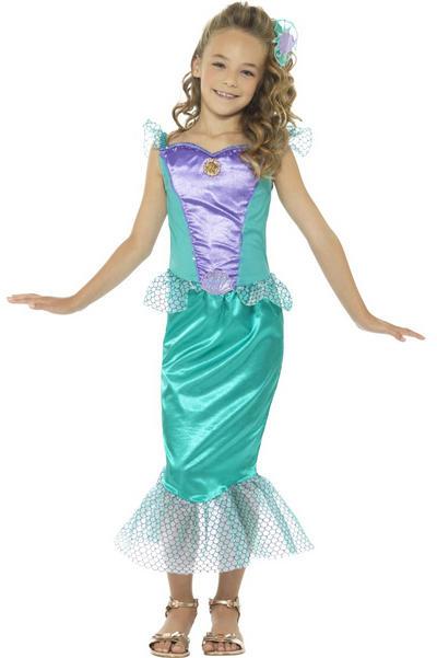 Deluxe Mermaid Girls Costume