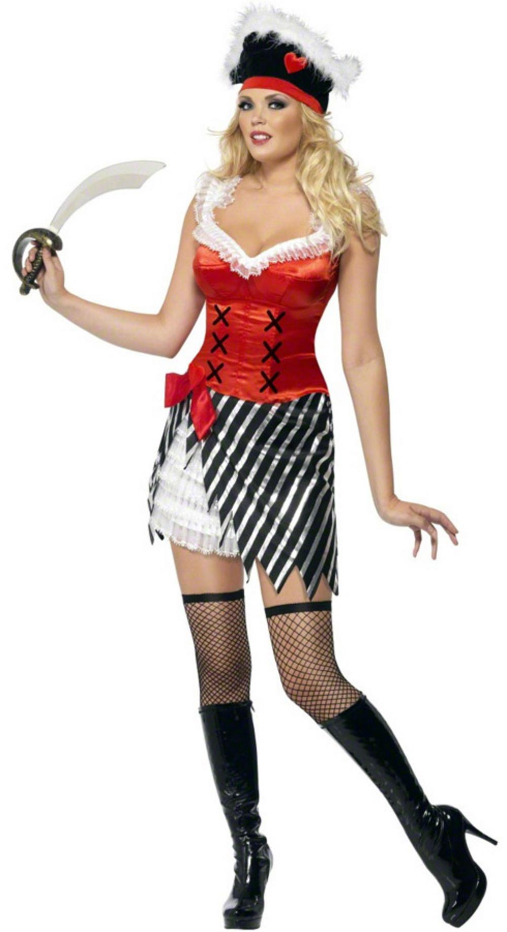 Fever Pirate Ladies Costume