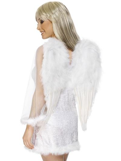 Feather White Angel Wings