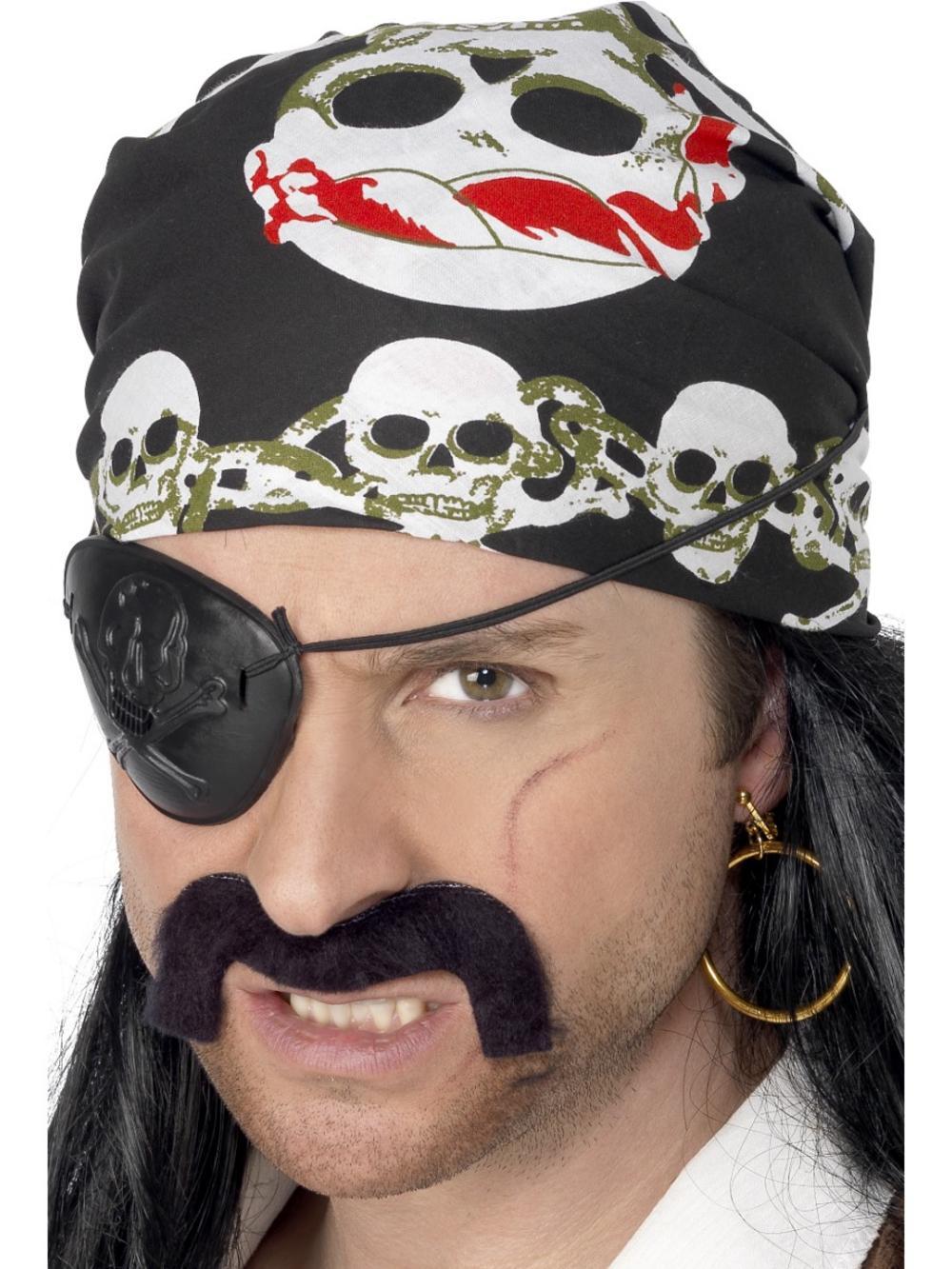 Pirate Bandana Costume Accessory