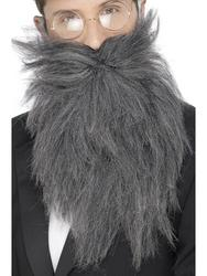 Grey Long Beard & Tash Adults Costume Accessory