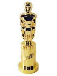 Gold Plastic Statue