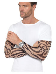 Tattoo Arm Sleeves 2 Costume Accessory