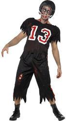 Men's Zombie American Footballer Small