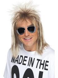 80's Mullet Mens Wig