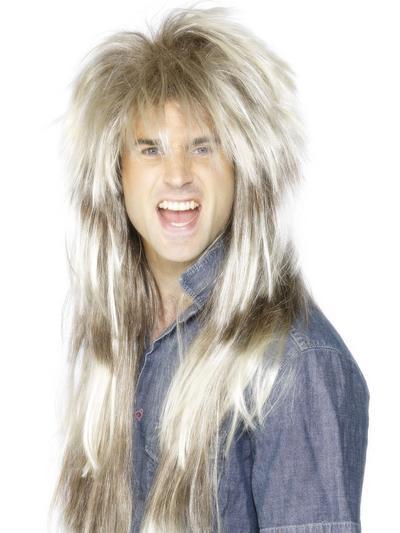 80s Mega Mullet Mens Wig