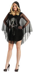 Ladies' Scream Poncho Dress