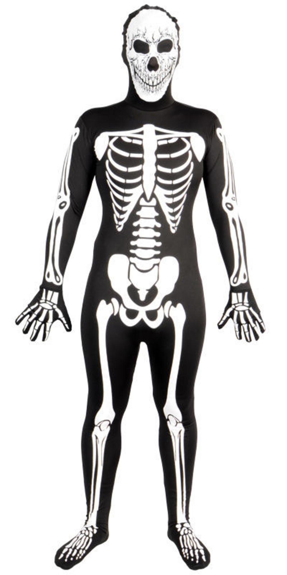 Glow In The Dark Skeleton Skinsuit Costume Skeleton Costumes