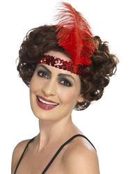 Red Flapper Headband