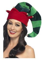 Plush Christmas Elf Hat