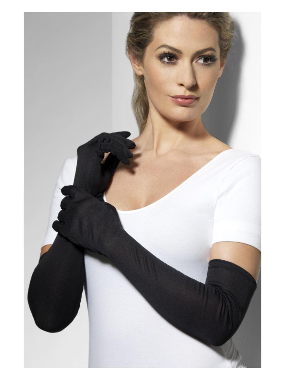 Ladies Black Gloves