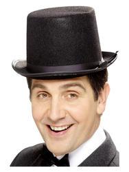 Black Topper Hat