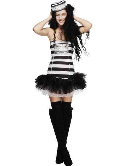 Fever Convict Cutie Costume