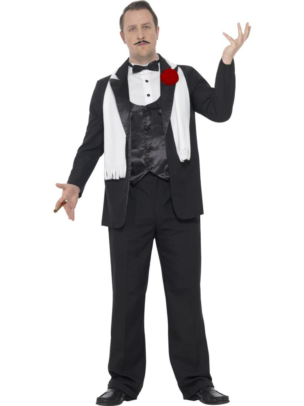 Curves Gangster Costume