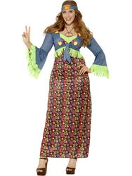 Curves Hippie Lady Costume