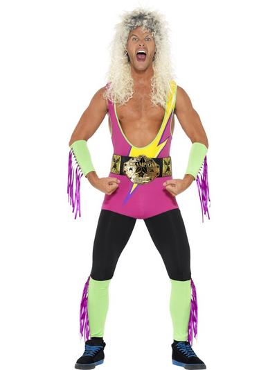 Retro Wrestler Costume