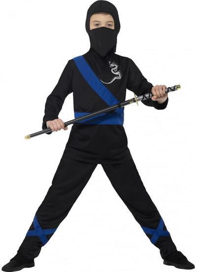 Ninja Assassin Boys Fancy Dress