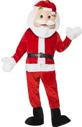 Santa Mascot Mens Costume