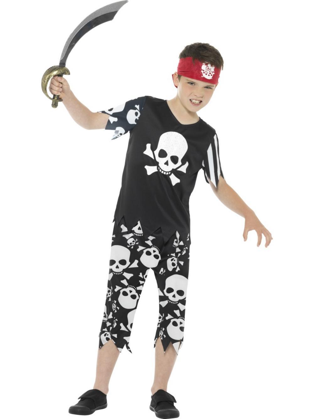 Rotten Pirate Boys Costume