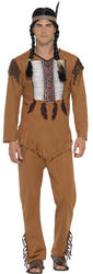 Native American Inspired Warrior Mens Costume