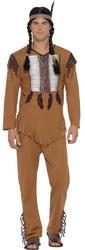 Native American Inspired Warrior Mens Costume