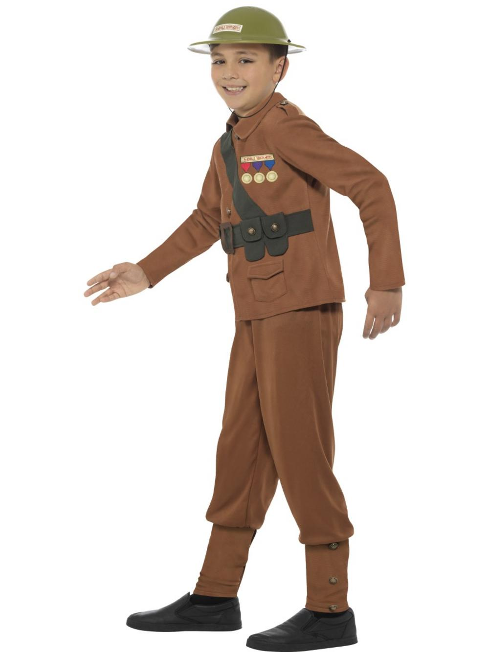 Horrible Histories Soldier Boys Costume TV Book And