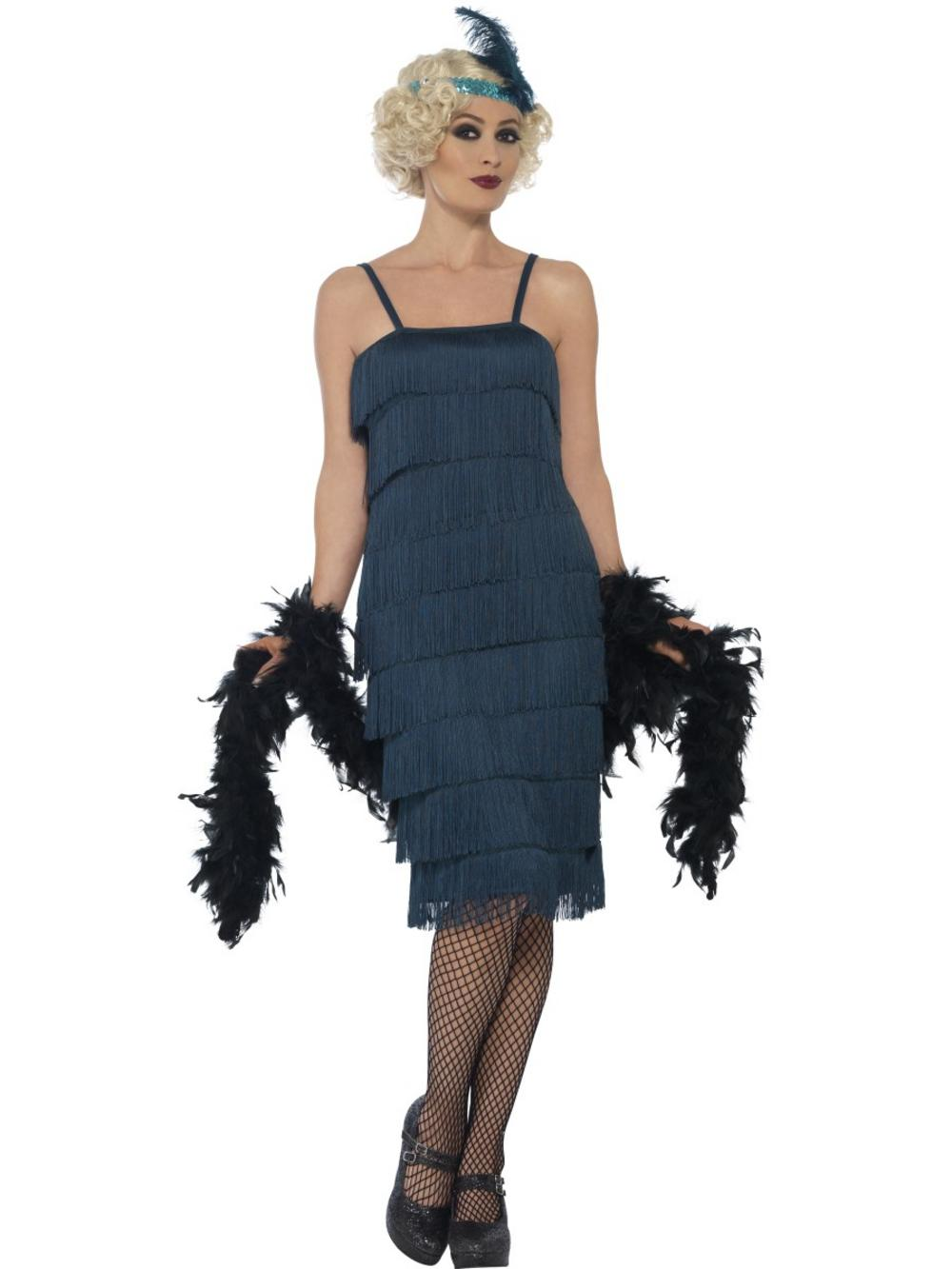 Blue Flapper Costume