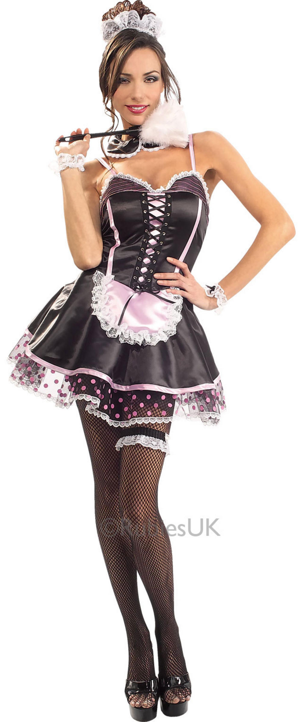 Naughty French Maid Ladies Costume