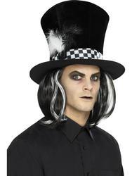 Dark Tea Party Top Hat