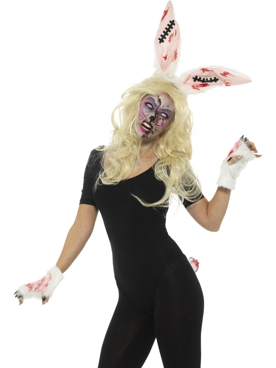 Zombie Bunny Kit Halloween Make Up Amp Accessories Mega