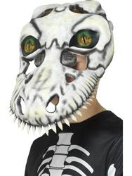 T-Rex Skull Mask, White