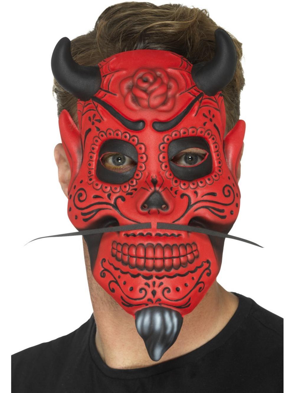 Adult devil makeup