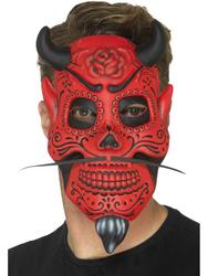 Day of the Dead Devil Mask Adult