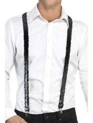 Sequin Braces Black